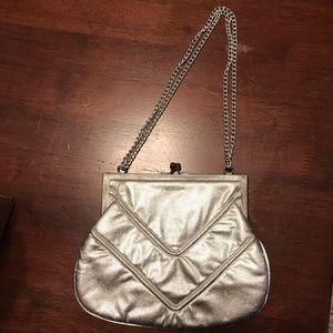 Vintage Silver Purse Handbag
